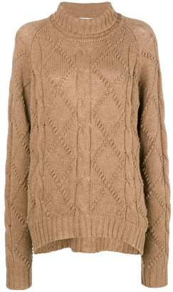 Jil Sander cable-knit sweater