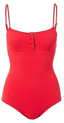 Melissa Odabash Women's Calabasas Ribbed One-Piece Swimsuit