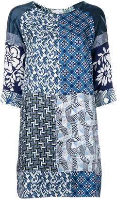 Pierre Louis Mascia Pierre-Louis Mascia multi-print shift dress