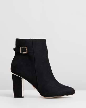 Lipsy Buckle Block Heels - Wide Fit