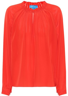 MiH Jeans Sidi silk blouse