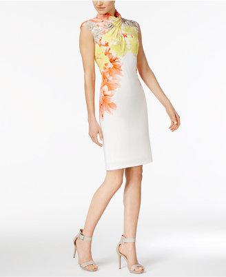 Calvin Klein Embellished Sheath Dress $109.50 thestylecure.com