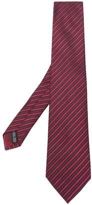 Salvatore Ferragamo stitch print tie