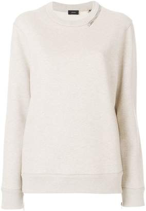 Joseph long-sleeve fitted sweater