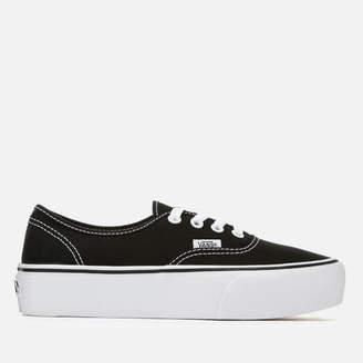 Vans Black Platform Shoes For Women - ShopStyle UK 13978e16d