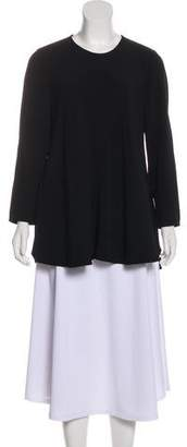 Proenza Schouler Long Sleeve Slit-Accented Tunic