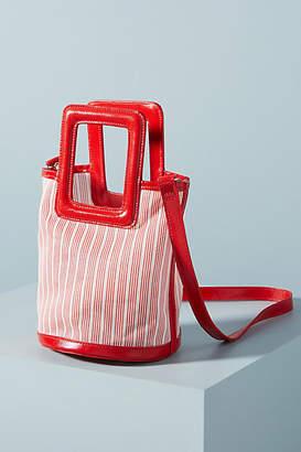 Solid & Striped Pookie Striped Mesh Mini Tote Bag