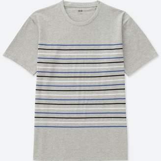 Uniqlo MEN Striped Crew Neck Short Sleeve T