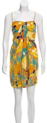 Diane von Furstenberg Edythe Silk Printed Dress