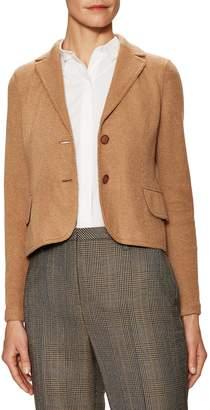 Akris Women's Beatle Split Cuff Jacket