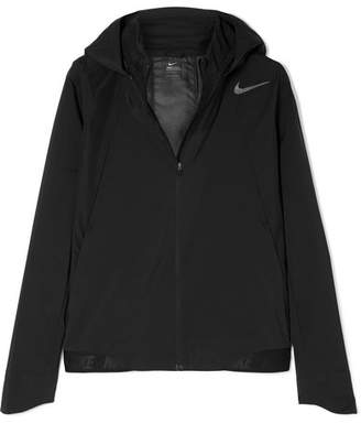 Nike Zonal Aeroshield Hooded Shell Track Jacket - Black