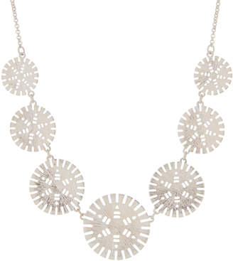Schiff Marlyn Silver-Tone Cutout Circle Necklace