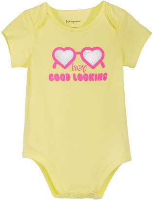 First Impressions Baby Girls Graphic-Print Cotton Bodysuit, Created for Macy's