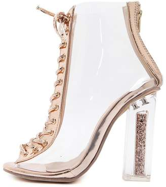 44fd6d980670 clear IINFINE Women s Fashion High Heel Sexy Shoes Strappy Sandal Platform  Shoes-( 36