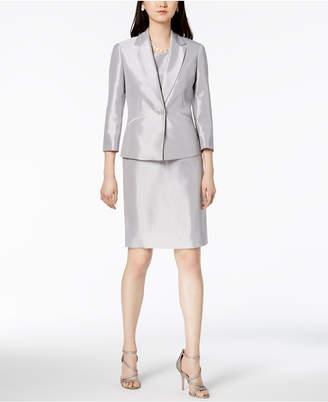 Le Suit Shiny One-Button Jacket & Dress