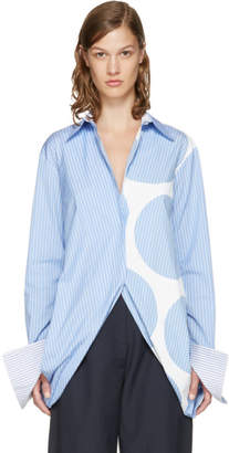 Stella McCartney Blue Striped Manuela Shirt