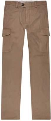 Brunello Cucinelli Cotton Cargo Trousers