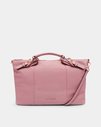 Ted Baker SALBEE Bridle handle large leather tote bag