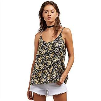 Volcom Junior's You Want This Woven Scoop Neck Top