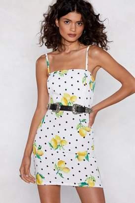 Nasty Gal Easy Peasy Lemon Dress