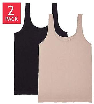 Carole Hochman Ladies' 2-pack Scoop Neck Tank
