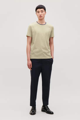 Cos STRIPED ROUND-NECK T-SHIRT
