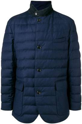 Loro Piana button padded jacket