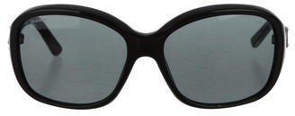 Prada Logo-Embellished Tinted Sunglasses