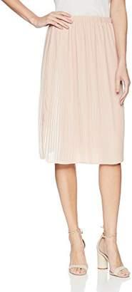 Adrianna Papell Women's 2 Tone Pleated Chiffon Skirt