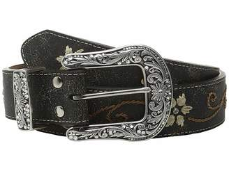 M&F Western Floral Embrodery Belt