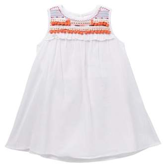 Design History Pom Pom Dress (Toddlers & Little Girls)