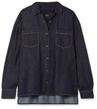 3x1 Joni Denim Shirt - Dark denim