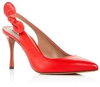 89de7b98389 Tabitha Simmons Women s Millie Slingback Pointed Toe Pumps