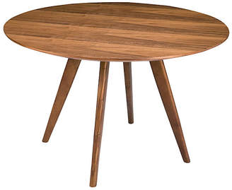 One Kings Lane Vienna Round Dining Table - Walnut