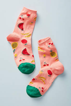 Hansel from Basel Fruit Salad Crew Socks