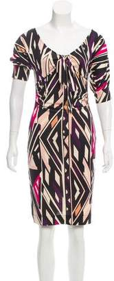 Diane von Furstenberg Printed Silk Dress