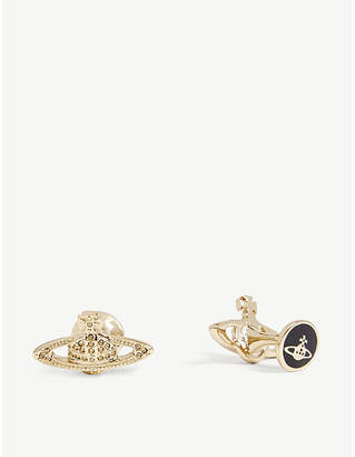Vivienne Westwood Mini Bas Relief orb cufflinks