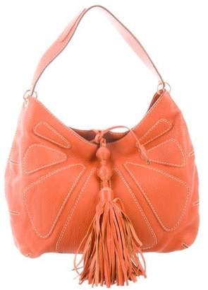 Anya Hindmarch Pebbled Leather Hobo
