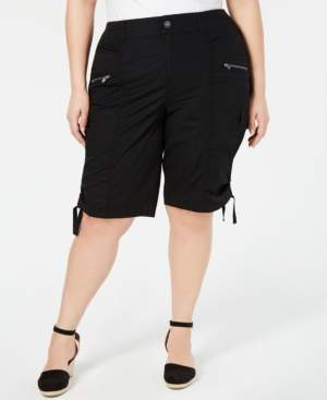 Style&Co. Style & Co Plus Size Cargo Bermuda Shorts, Created for Macy's
