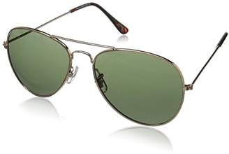 Zerouv Original Classic Metal Standard Aviator Sunglasses - Nickel Plated Frame