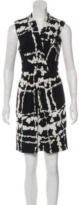 BCBGMAXAZRIA Printed Mini Dress