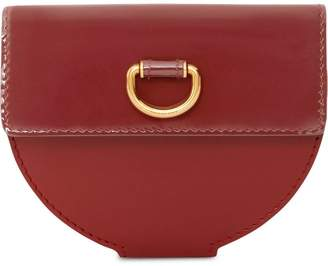 Burberry D-ring Detail Patent Leather Coin Case