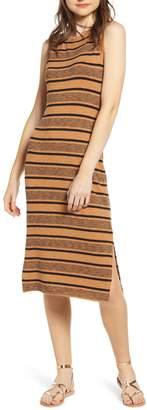 BP Stripe Tank Midi Dress