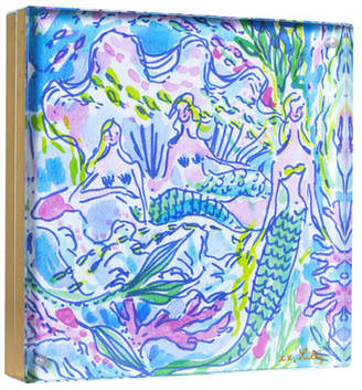 Lilly Pulitzer Gold-Tone Acrylic Picture Frame