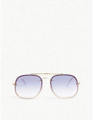 d13162b520 at Selfridges · Ray-Ban RB3583 square-frame sunglasses
