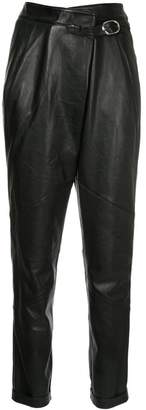 Michel Klein leather trousers