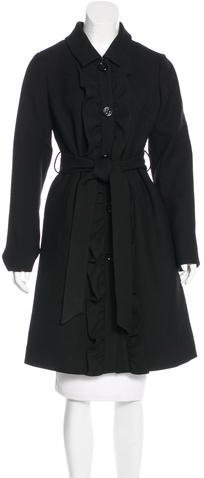 Kate Spade Kate Spade New York Ruffled Wool Coat