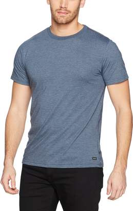 RVCA Young Men's Label Tee Shirt, -, L