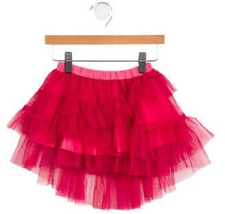 Paper Wings Girls' Tulle High-Low Skirt w/ Tags