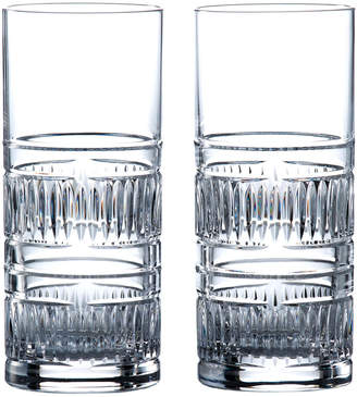 Royal Doulton Set Of 2 Radial Highballs